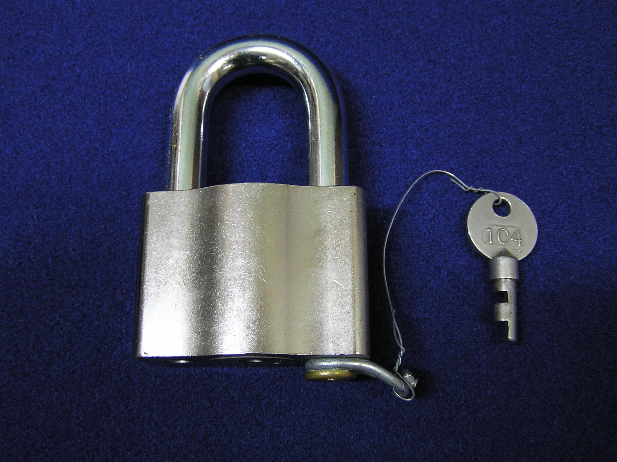 Sargent & Greenleaf 104 Environmental Padlock High Security Outdoor Weather