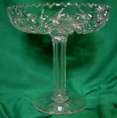 Compote Libbey Cutglass