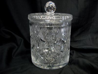 Cutglass ice Bucket