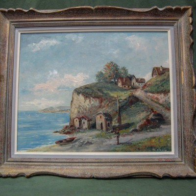 Oil Painting Signed By g. Mario