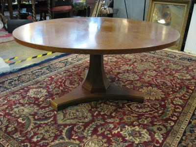 """Henreqon Mid Centary Pedestal coffee tables 38"""""""
