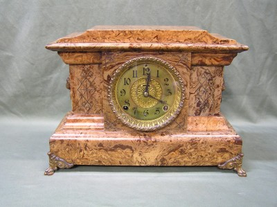 Seht Thomas Clock Adamantine Finish