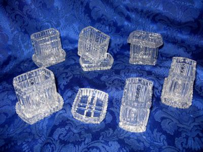 Toothpick Holder Cutglass