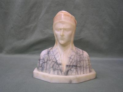 """Marble Bust statue 7."""" Tall"""