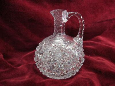 OIL Decanter Cutglass