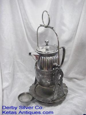Water Server Silver Plate