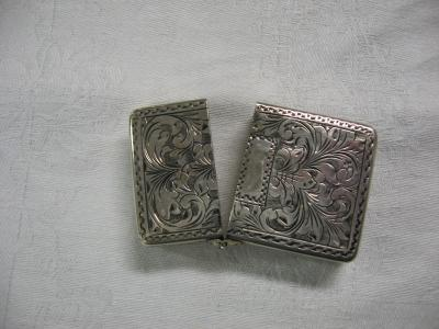 Sterling Match Box